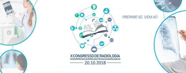 X Congresso de Radiologia do Instituto Cimas de Ensino II Encontro dos Autores das técnicas radiograficas banner